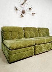 Vintage modular sofa modulaire lounge bank