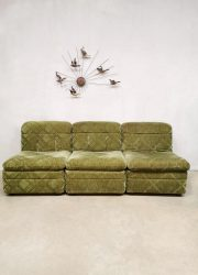 Modulaire bank vintage sixties elementen sofa modular jaren 60 design