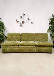 Sixties sofa bank elementen elements vintage design modular modulair midcentury