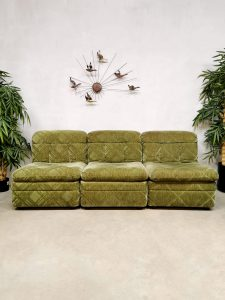 Sixties sofa bank elementen elements vintage design modular modulair midcentury