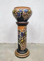 vaas plantenstandaard Art deco plant stand vase