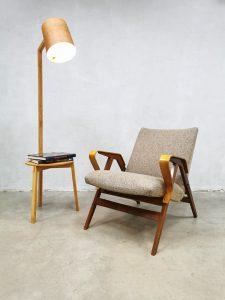 Midcentury Czech design armchair fauteuil Tatra Nábytok