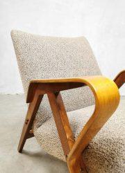 Midcentury design fauteuil model 24-23 Tatra Nábytok