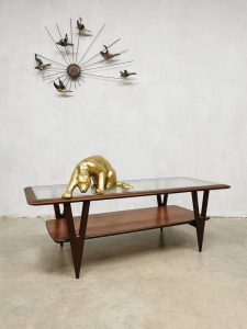 Midcentury Italian design coffee table salontafel Cesare Lacca