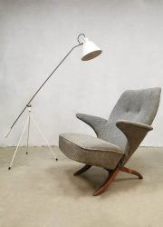 Theo Ruth midcentury design pinguin chair fauteuil Artifort