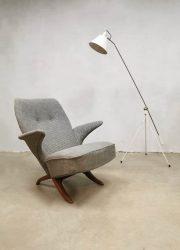 Midcentury Dutch design pinguin chair Theo Ruth Artifort