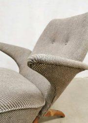 Midcentury Dutch design pinguin chair Theo Ruth Artifort vintage