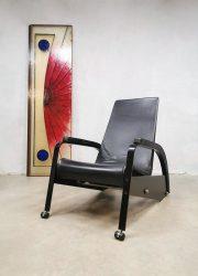 Tecta Machine chair fauteuil vintage Jean Prouvé D80-1 stoel chair relax lounge