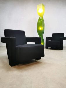 Dutch design 'Utrecht' chair armchair fauteuil Cassina Gerrit Rietveld