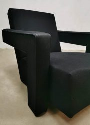 vintage armchair lounge fauteuil Gerrit Rietveld Cassina