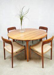 Vintage dining table eetkamertafel Niels O Møller Gudme Mobelfabrik