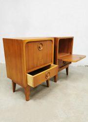 cabinets nachtkastje Danish vintage design