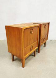 Vintage danish design nightstand Deens design nachtkastje