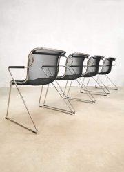 Castelli Penelope chairs Charles Pollock Italian design stoelen