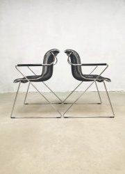 eetkamerstoelen Charles Pollock Penelope chairs