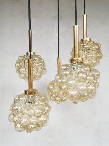 Vintage design pendant lamp hanglamp Helena Tynell Glashutte Limburg