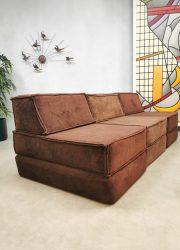 Cor sofa modular velvet modulair vintage design bank