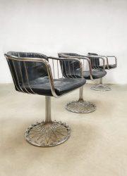 extendable dining table vintage design eetkamertafel