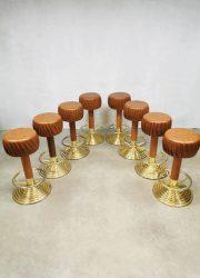 Unique vintage barstools stools barkrukken eclectic design