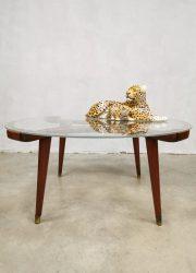 Vintage Dutch design coffee table salontafel William Watting Fristho