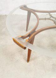 glass coffee table William Watting Fristho