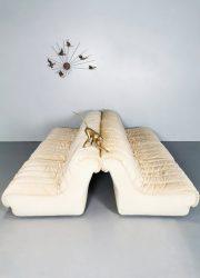 Unique vintage modular sofa modulaire lounge bank 'pure luxe' De Sede style