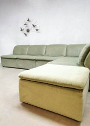 lounge sofa modulaire bank velvet seating group