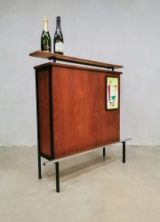 midcentury design cocktail bar cabinet seventies