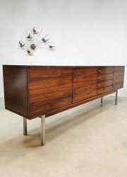 Vintage sideboard cabinet Danish design dressoir rose wood