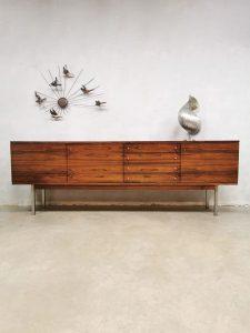 Vintage sideboard cabinet Danish design dressoir rose wood