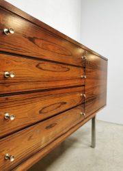 vintage kast wandkast Deens Scandinavian cabinet dressoir