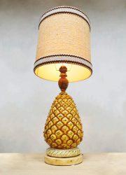ananas tafel lamp table lamp pineapple vintage design
