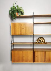 vintage wall unit wandmeubel retro jaren 60 70 design kast cabinet