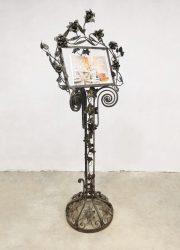 Unique Jugendstil Art nouveau book stand leesstandaard menukaarthouder