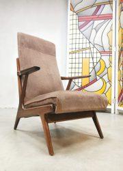 vintage design lounge stoel fauteuil chair Danish style