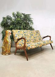 Midcentury Danish design sofa lounge bank 'Botanical'