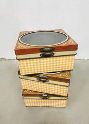 vintage blik blikken Verkade Holland cookie tin