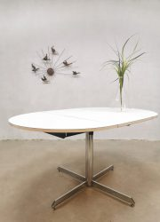 eetkamerstafel vintage dining table minimalism design
