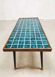 vintage tile design coffee table tegel salontafel
