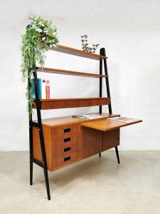 Danish vintage design wall unit room divider wandkast Deens