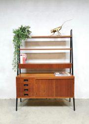midcentury design Scandinavian cabinet roomdivider Danish Deense wandkast Scandinavisch