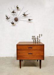 Vintage Danish design cabinet midcentury Deense ladekastje
