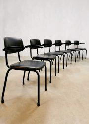 Vintage chairs Friso kramer stapelstoelen Dutch Design