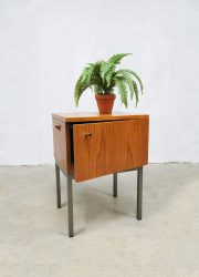 minimalism night stands teak wood nachtkastjes