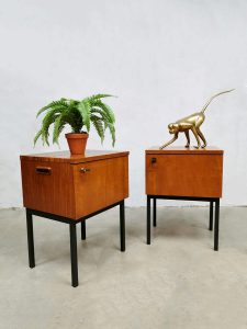 Vintage Industrial nightstands nachtkastjes 'Minimalism'