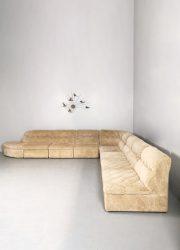vintage modular sofa bank Lausse