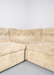 retro velvet lounge bank sofa retro eclectic design