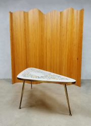 vintage eclectic mozaiek salontafel coffeetable fifties sixties design