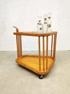 Italian vintage design serving trolley serveerwagen Cesare Lacca