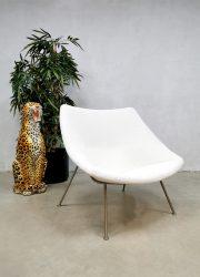 Midcentury vintage design chair Pierre Paulin Oyster lounge fauteuil Artifort